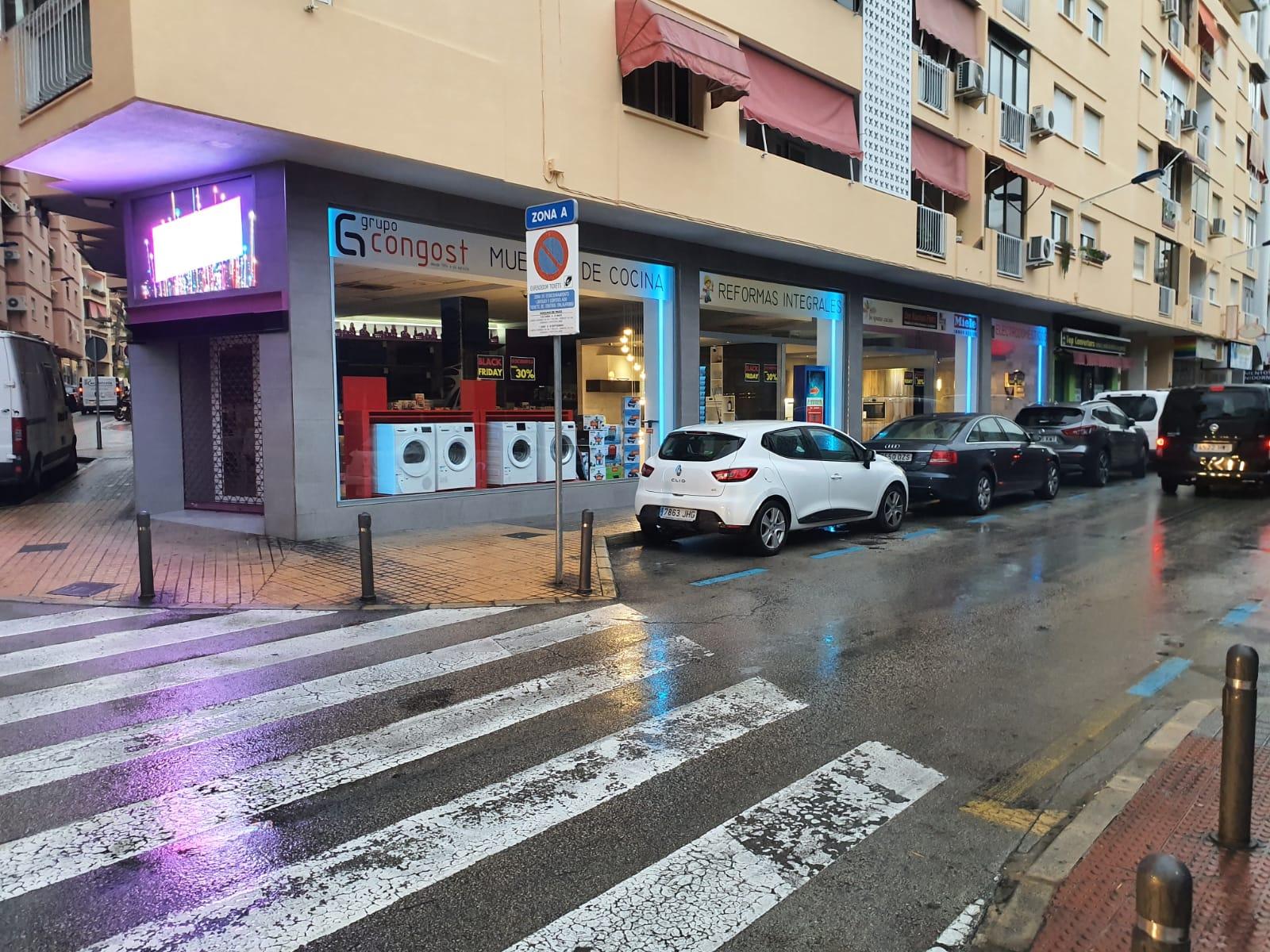 Local comercial de 250M2, en el centro de Benidorm (frente Cines Colci)